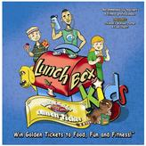 LunchBox Kids Health & Fitness Educational Board Game