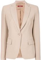 Max Mara Studio fitted waist blazer