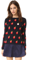 Chinti and Parker All Over Apple Sweater