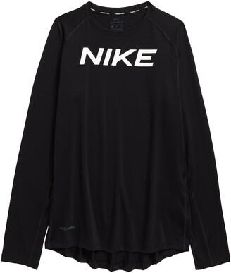 Nike Pro Kids' Dri-FIT Long Sleeve Performance Training T-Shirt