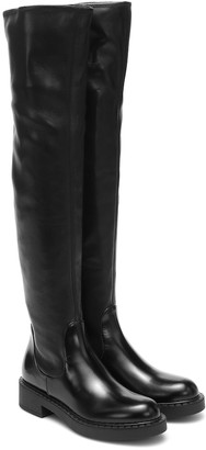 Prada Tall leather boots