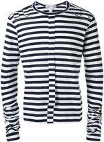 Comme des Garcons striped sweatshirt - men - Cotton - XS