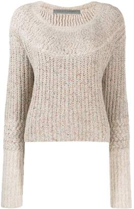 Raquel Allegra cropped knit jumper