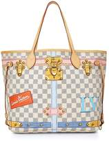 Louis Vuitton Damier Azur Summer Trunks Neverfull MM NM