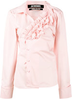 Jacquemus asymmetric ruffle shirt