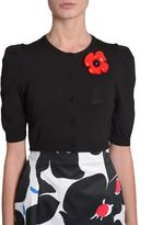 Moschino Bolero With Flower Detail