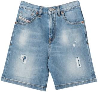 Diesel Denim Shorts Teen