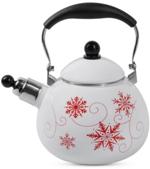 Sedona Enamel-on-Steel Whistling Tea Kettle