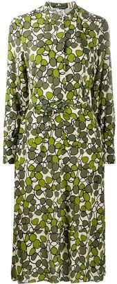 Luisa Cerano Graphic-Print Shirt Dress