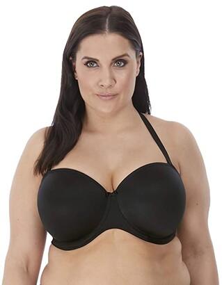 Elomi Smooth Underwire Molded Strapless Bra (Black) Women's Bra