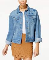 Tinseltown Juniors' Cotton Denim Jacket