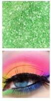 Sugarpill Cosmetics Elektrocute Neon Pigment Eye Shadow, Sparkage