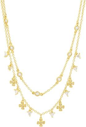 Freida Rothman Harmony Double Strand Necklace