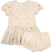 Stella McCartney Floral Tulle Dress & Bloomers Set