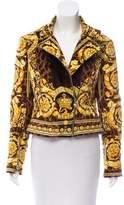 Versace Barocco Velvet Jacket w/ Tags