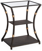One Kings Lane Silas Side Table - Burnished Gold