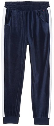 Tommy Hilfiger Bold Stripe Joggers (Big Kids) (Flag Blue) Girl's Clothing