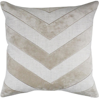 The Piper Collection Wesley 22x22 Pillow - Oatmeal