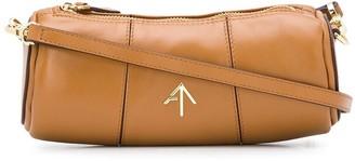 MANU Atelier Cylinder logo shoulder bag