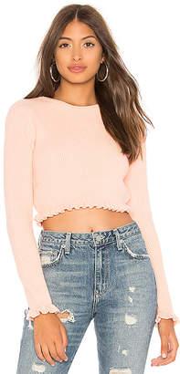Lovers + Friends Irene Crop Sweater
