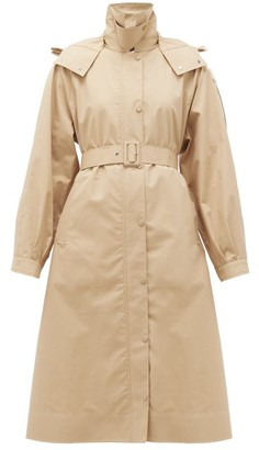 4 Moncler Simone Rocha - Silene Single-breasted Cotton-blend Twill Coat - Beige