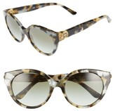 Tory Burch Women's 52Mm Retro Sunglasses - Pearl