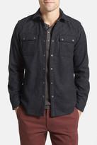 Jeremiah Huntley Melton Shirt Jacket