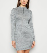 New Look Parisian Zip Neck Bodycon Dress