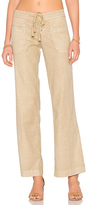 Level 99 Leandra Lounge Pant in Beige