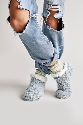 Free People So Soft Cable Cabin Slipper Socks