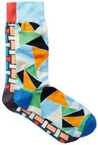 Jared Lang Mosaic Crew Socks - Pack of 2