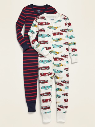 Old Navy Patterned One-Piece Pajamas 2-Pack for Toddler Boys & Baby