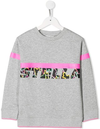 Stella McCartney Kids Graphic Logo Sweatshirt