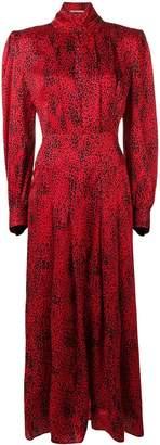 Alessandra Rich puffed sleeve dress