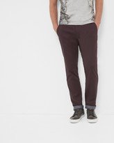 Ted Baker Mini Design Silm Fit Trousers Blue
