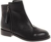 Faith Sandy Zip Side Flat Ankle Boots