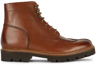 Grenson Grover brown leather ankle boots