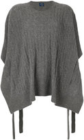 Polo Ralph Lauren draped knitted top