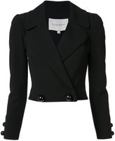 Carolina Herrera double-breasted cropped jacket
