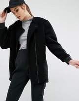 KENDALL + KYLIE Boucle Fall Coat