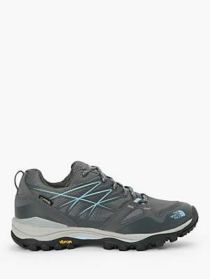 The North Face Hedgehog Fastpack Women's Waterproof Gore-Tex Hiking Shoes, Zinc Grey/Airy Blue