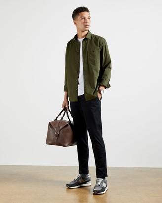 Ted Baker Cotton Plain Shirt