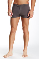 Parke & Ronen Lancaster Solid Stretch Swim Short