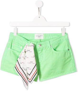 Alberta Ferretti Kids TEEN denim shorts