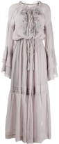 Etro embroidered peasant dress