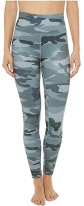Splendid Studio Koa Camo Leggings (Olive Camo) Women's Casual Pants