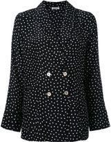 P.A.R.O.S.H. polka dot blazer - women - Silk - L