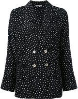 P.A.R.O.S.H. polka dot blazer - women - Silk - S