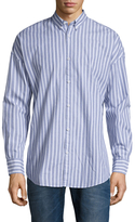 Zanerobe Rugger Striped Button Down Sportshirt
