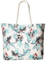 Roxy Printed Tropical Vibe Beach Tote Tote Handbags